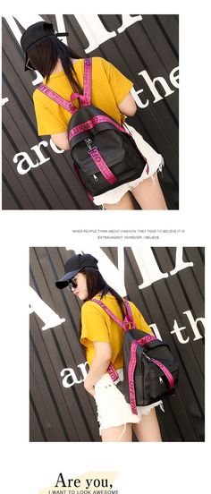 2017 Women Backpacks nylon Backpack Female Trendy backpack Designer School Bags  Teenagers Girls Travel Mochilas – c8fc3e5360b8b