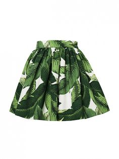We're swooning over this Palm Print Party Skirt by SKOT!