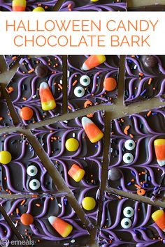 Halloween Candy Bark | eMeals