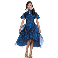 Disney's Descendants: Deluxe Evie Coronation Costume For Kids