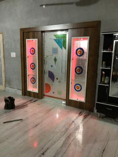 R Room Partition Wall, Glass Partition Designs, Living Room Partition Design, Glass Design, Room Partitions, Wood Design, Kitchen Door Designs, Cupboard Design, Lcd Wall Design