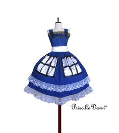 NEW TARDIS Box Office Tea Dress Dr Who Custom In Your Size PriscillaDawn Spring 2013 Collection.