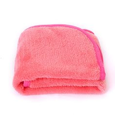 Makeup Remover Cloth Pack - Chemical Free Makeup Towel, Reusable Facial Cleansing Towel (Pink * For more information, visit image link. (This is an affiliate link) Best Makeup Remover, Makeup Removers, Makeup Towel, Chemical Free Makeup, Makeup Vault, Remove Makeup From Clothes, Fiber Mascara, Clean Makeup, How To Get Rid Of Acne