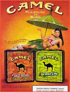 Cigarrillo - Camel - Pleasure To Weird Vintage, Vintage Signs, Vintage Ads, Vintage Posters, Vintage Cigarette Ads, Cigarette Brands, Advertising Ads, Vintage Advertisements, Vintage Advertising Signs