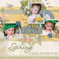 Credit: It's A Spring Thing Collection by Kimeric Kreations and Watering Hole Template by Little Green Frog Designs