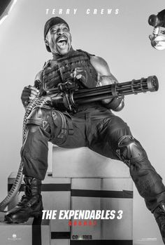 THE EXPENDABLES 3 Posters Featuring Harrison Ford, Terry Crews, Jet Li, Glen Powell | Collider