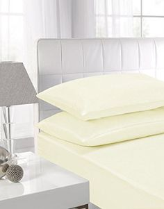 From 9.99 100% Egyptian Cotton Flat Sheets (double Cream)