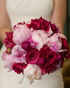 Image result for red and pink wedding flowers