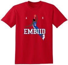 "Joel Embiid Philadelphia 76ers ""Air Pic"" T-Shirt"