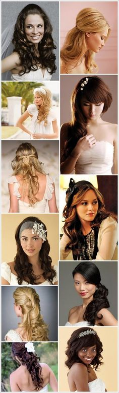 Miss Indie: 'I Do' Sunday: Wedding Day Hairstyles