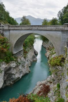 Napóleon híd, Szlovénia, Soca