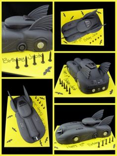 batman batmobile 5th birthday cake idea inspired by michelle cake designs