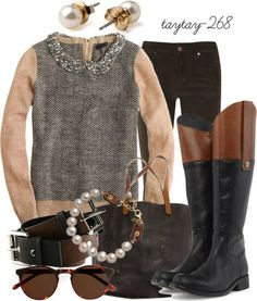 Like the boots- the rest is too vintage for me but beautiful!