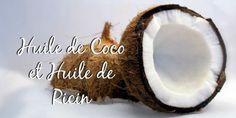 Huile de ricin huile de coco : le match