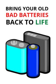 How to Bring Any Battery Back to Life - batteries diy How to Bring Any Battery Back to Life [Video] Just Released On: May 27, 2018 A new company named EZ ... Read moreHow to Bring Any Battery Back to Life Car Audio Battery, Jump A Car Battery, Ryobi Battery, Solar Battery, Dual Battery Setup, Lead Acid Battery Charger, Battery Charger Circuit, Battery Hacks, Battery Tools