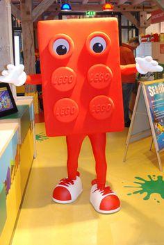 LEGO Red Brick - Germany #mascot #costume #germany