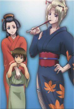 Tsukuyo, Seita, Hinowa