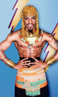 Andre 3000, I'd love to be his Cleopatra haha <3