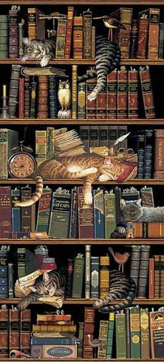 Frederick the Literate by Charles Wysocki