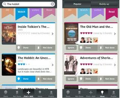 Done Not Done: This app helps you remember movies, books and music you plan to check out