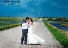 Tornado Wedding -Cosmopolitan.com... coolest wedding pic I've seen!