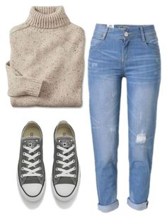"""Untitled #337"" by aaisha123 ❤ liked on Polyvore featuring Converse"