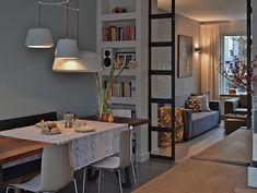 Abrir una cocina de diseño alargado - Ebom