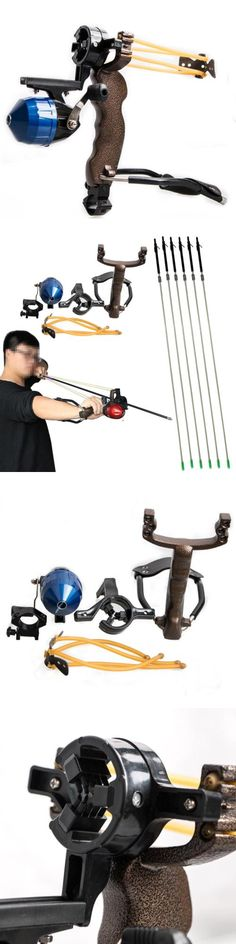 Slingshots 117141: Hunting Fishing Slingshot Bowfishing Catapult Fish Sling Shot + 6X Carbon Arrow BUY IT NOW ONLY: $119.0
