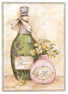 Posterazzi Persian Honey Canvas Art - Pamela Gladding x Decoupage Vintage, Vintage Diy, Vintage Labels, Vintage Ephemera, Vintage Cards, Vintage Paper, Posters Vintage, Images Vintage, Vintage Pictures