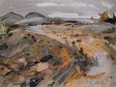The Upstart Crow Pastel Landscape, Abstract Landscape Painting, Landscape Paintings, Abstract Art, Abstract Paintings, Landscapes, Landscape Drawings, Landscape Art, Art Studio Storage