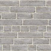 This grey brick peel and stick wallpaper is a modern way to create a brick feature wall. Varying sizes of bricks give the print a realistic, organic look. Comes on a in by 18 ft roll. Grey Wallpaper Samples, Brick Wallpaper, Wallpaper Decor, Wallpaper Roll, Peel And Stick Wallpaper, White Wallpaper, Wallpaper Ideas, Grey Brick, Faux Brick