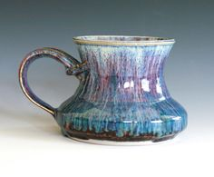 Coffee Mug handmade ceramic cup ceramic stoneware mug by ocpottery, $25.00