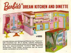 Barbie's dream kitchen