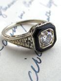Beautiful antique rings
