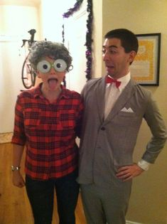 Costumes inspired by Pee-wee Herman - My Log