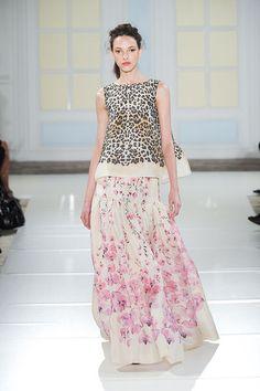 High fashion mixed prints. I kinna dig this.