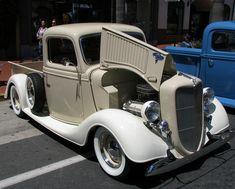 Vintage 1936 Ford Pickup Truck.  by trail trekker, via Flickr