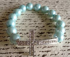 Tiffany Blue Cross Bracelet