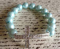 Tiffany Blue Cross Bracelet