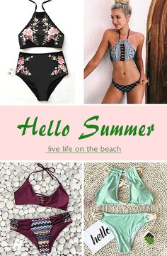 Live life on the beach~ Cupshe have pick various style swimsuits for you to have a try. It is the only best must-have for beach trips. Say hello to incoming summer now!