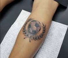 Image result for soccer tattoo
