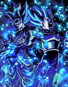 Goku y Vegueta