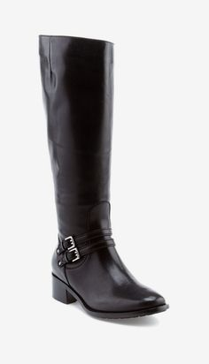 Cole Haan Dover Leather Boot Black