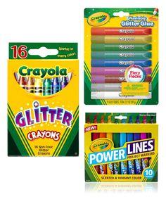 Another great find on #zulily! Crayola Glitter Crayon Set by Crayola #zulilyfinds