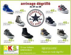 Dks chaussures on pinterest kid shoes des baskets and for Garage grenoble ouvert samedi