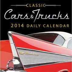 Classic Cars & Trucks 2014 Desk Calendar     CALENDARS.COM
