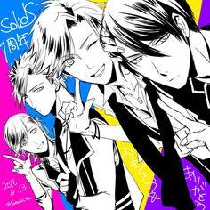 Tsukiuta The Animation, Horimiya, Manga Games, Anime Guys, Anime Art, Disney, Character, Bestfriends, Girlfriends