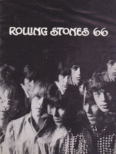 Rolling Stones – 1966 UK Concert Program With Jimmy Page-Era Yardbirds, Ike & Tina Turner