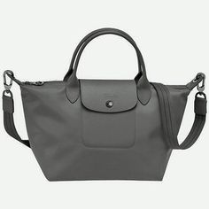 Longchamp Le Pliage Neo Small Handbag in Gray