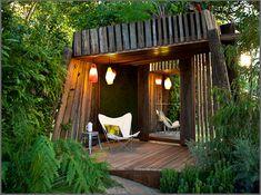 Bathe by Phillip Johnson for Melbourne International garden Show 2011 - love this in the corner of my garden.